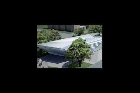 Zaha Hadid's Eli and Edythe Broad Art Museum design